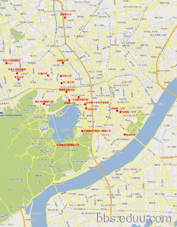 杭州重点小学学区房分布==(图4)