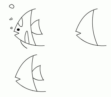 儿童简笔画教程图片——不断收集不断更新!