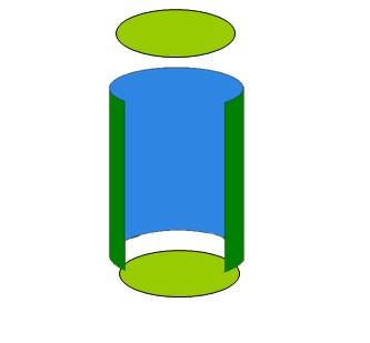 圆柱的表面积公式 孩子一定用得上图片