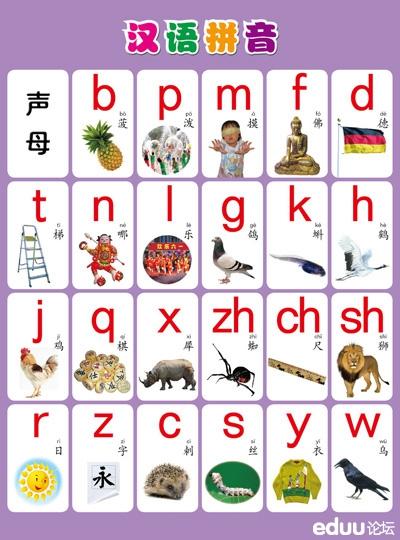 小学一年级汉拼音辅导资料