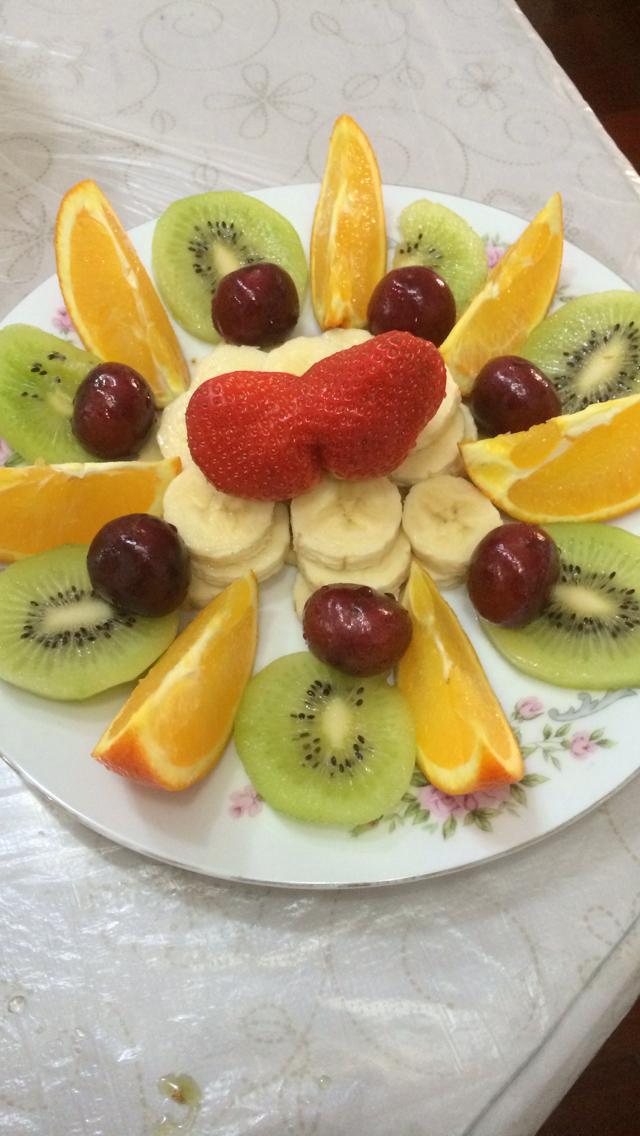 漂亮的水果拼盘 - 美图影音