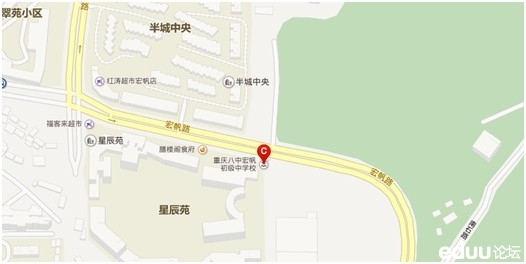 ②宏帆路宏帆校区地理位置