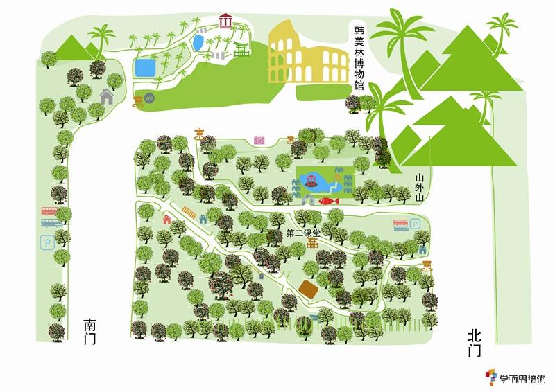 植物园手绘地图曝光啦!