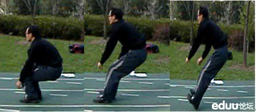 中考体育立定跳远图解技巧图片
