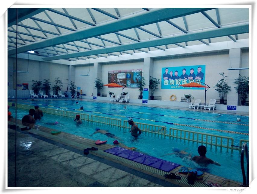 奥帆中心游泳池