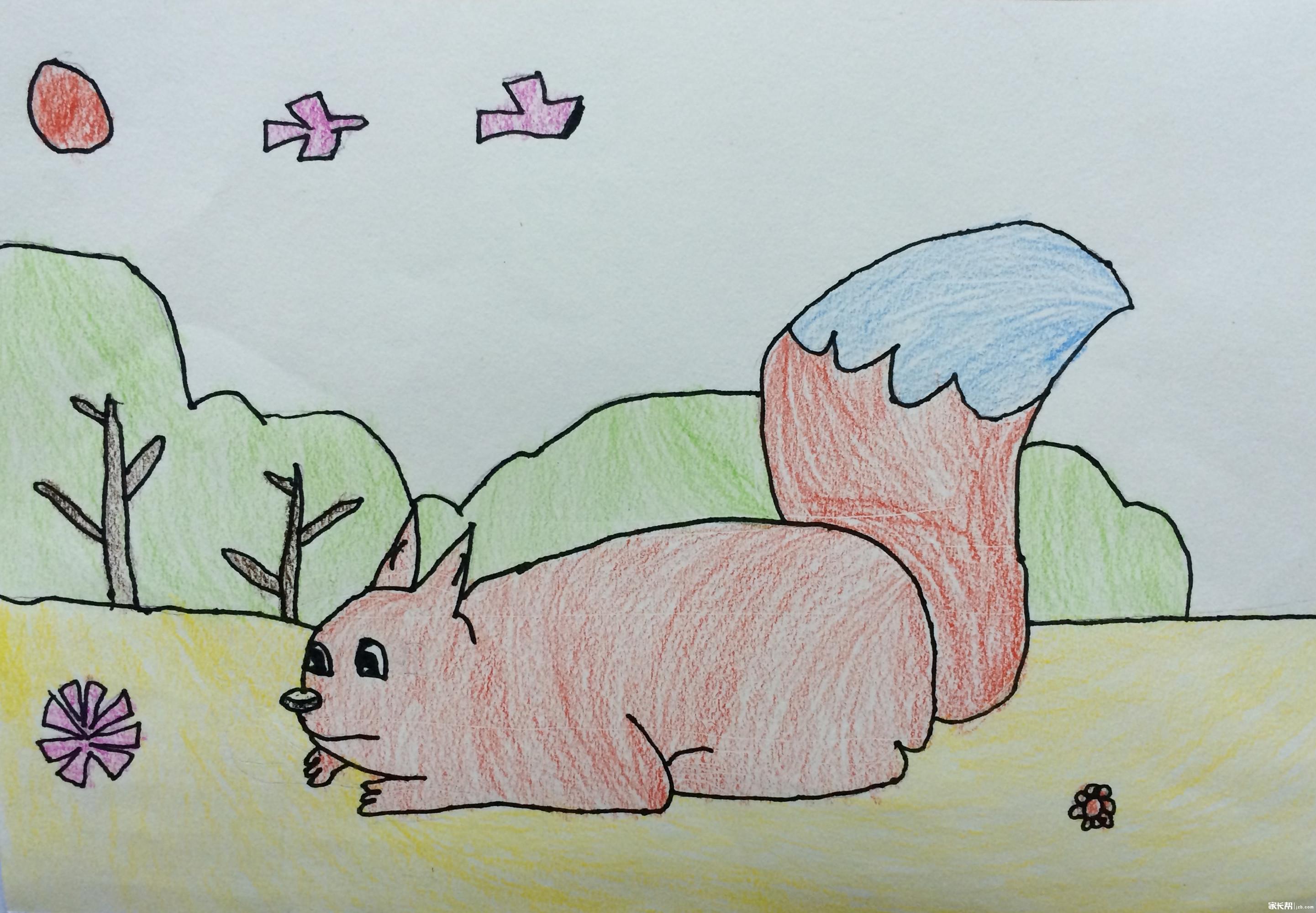 我学生的儿童画(一年级以下)
