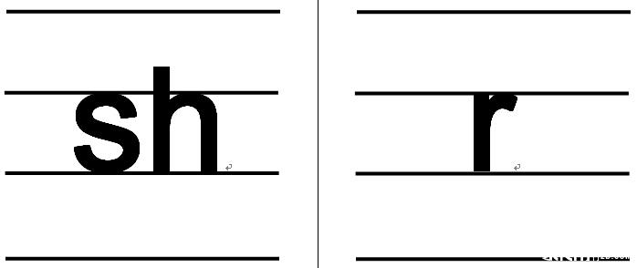 英文字母大小写卡片内容英文字母大小写卡片版面