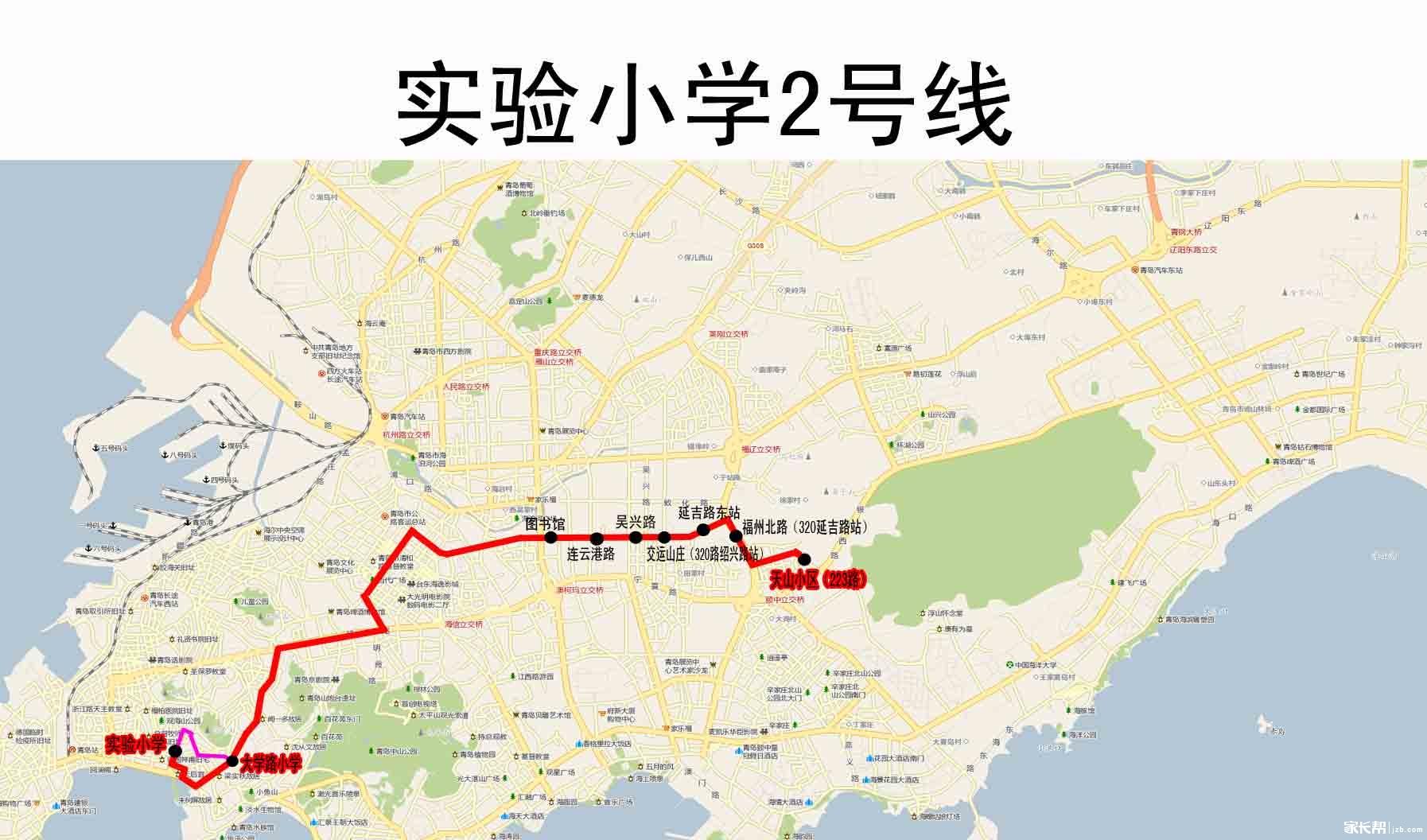 青岛至镇江地图