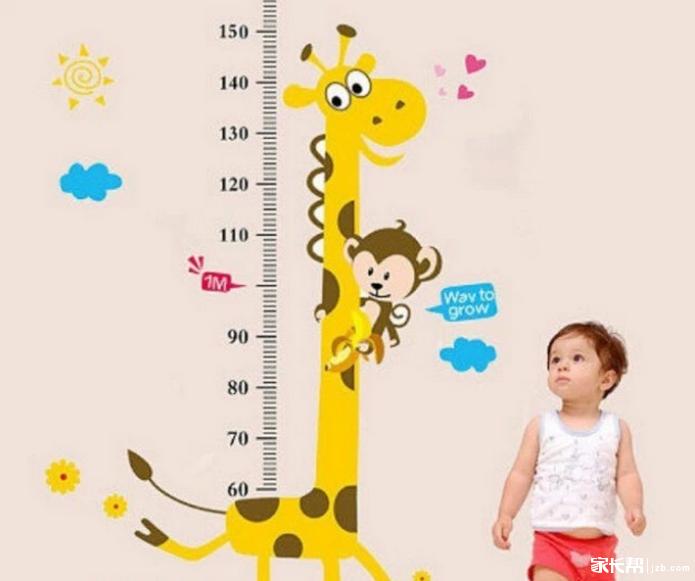 0~10岁儿童身高体重标准