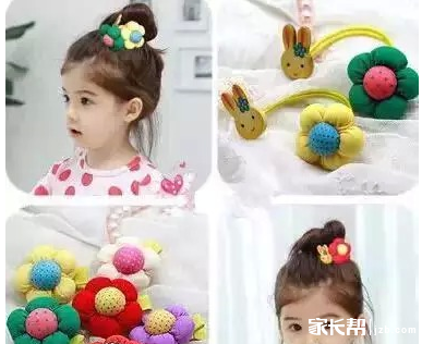 简单易学的女宝宝发型