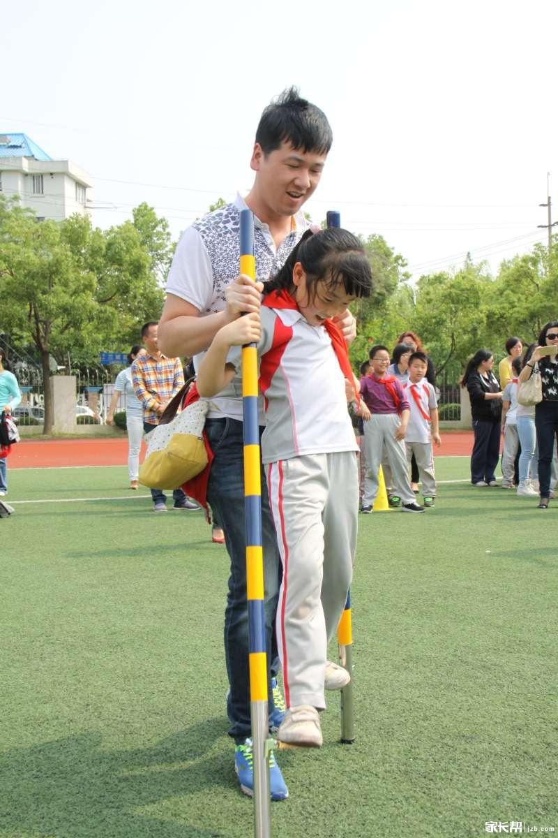 大手牵年级团结v年级一起走--沪东校区三小手家难最几何题的小学图片