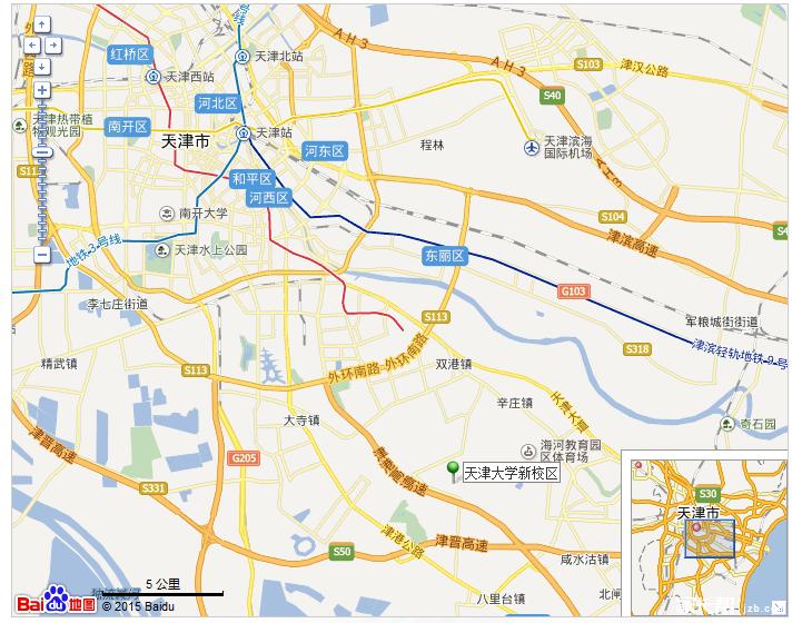天津津南区雅观路邮编