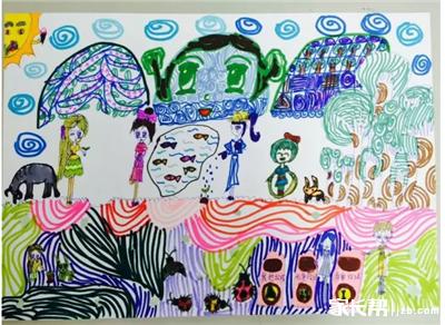 少儿节能环保创意绘画大赛作品展示(第二批)