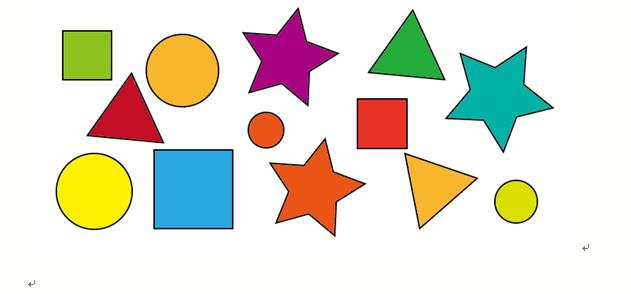 【记忆力】1代表圆,2代表正方形,3代表三角形,4代表五角星;乐宝们