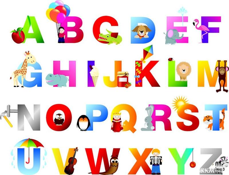 英语单词创意视觉设计