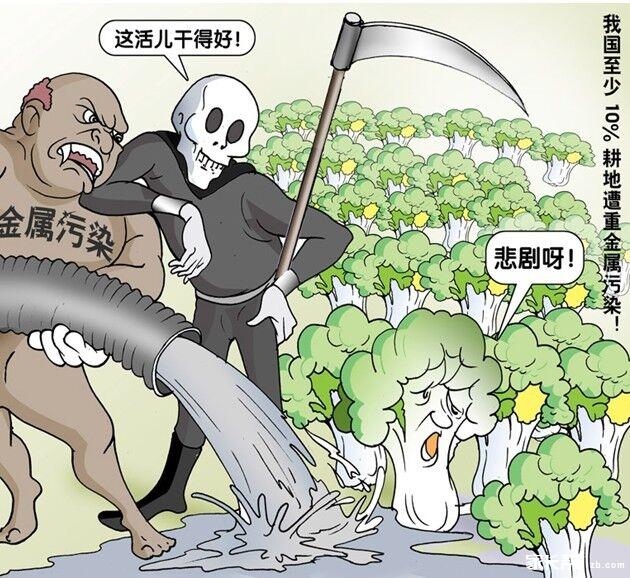 土壤污染的原因是什么