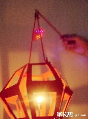 创意手工灯笼制作 制作步骤!
