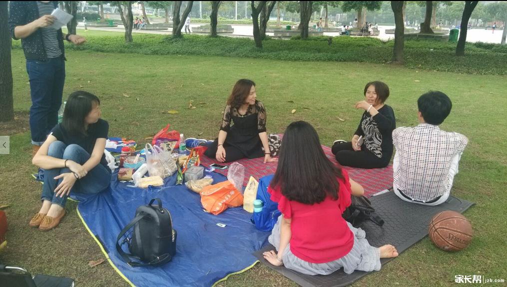 公园美食,乐享美食,野餐里的a公园美景!_亲情(一完我要看总动员看小学图片