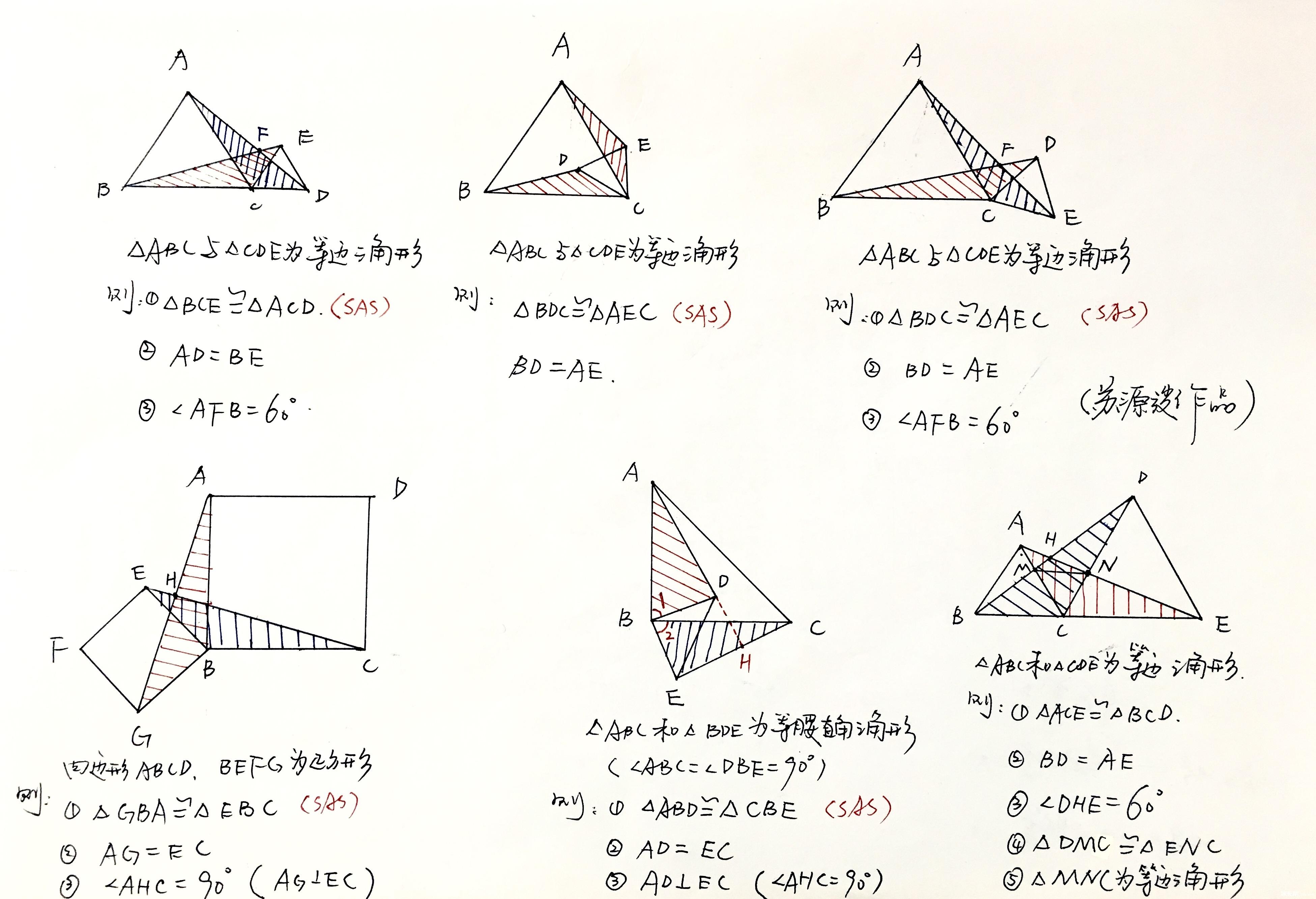 步步练习与攻克(第4步:重点考点三垂直模型练