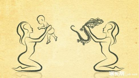相同的小动物见面点点头简笔画