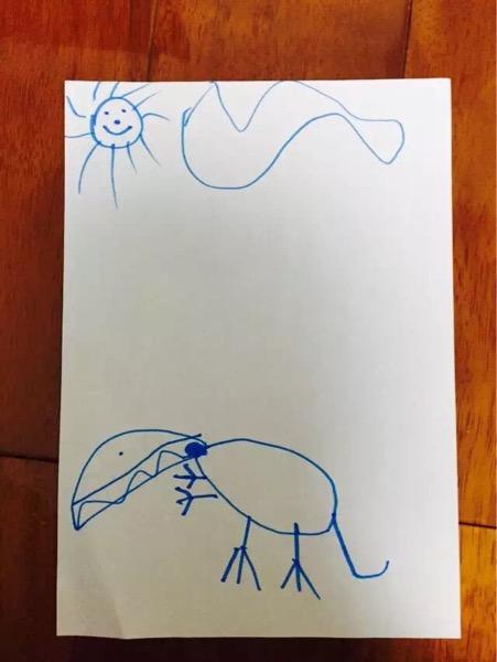 一组好玩的图片,不让孩子学画画后果有多可怕 来来来,对照一下你家娃