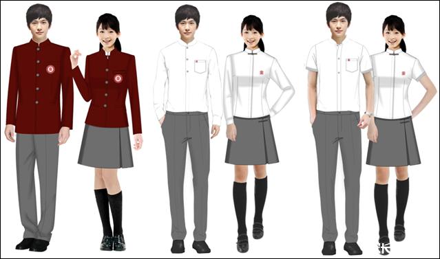 青岛实验高中的校服还真是高大上
