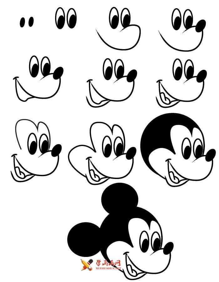手把手教12简笔画,有趣又简单!
