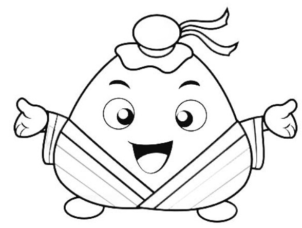 【端午节粽子卡通图片】-学路网-学习路上 有我相伴图片