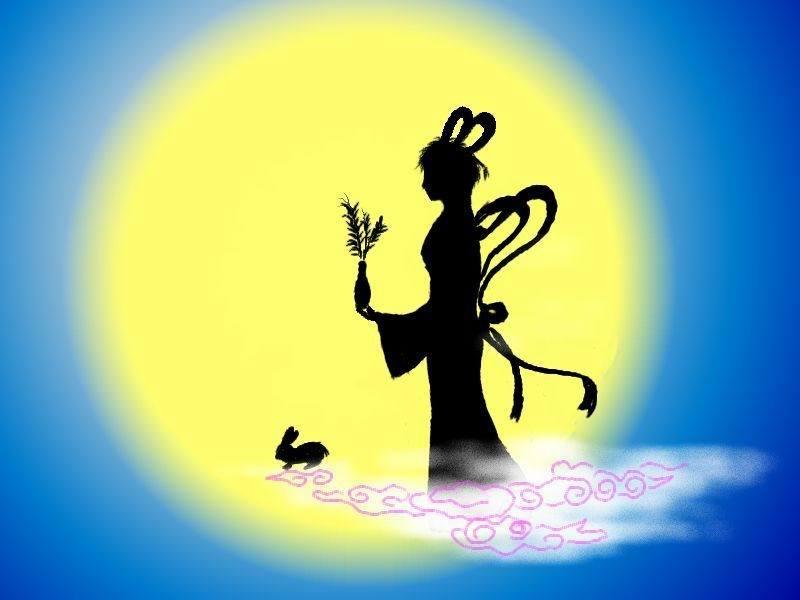 """中秋节月亮圆满,象征团圆,因而又叫""""团圆节"""""""