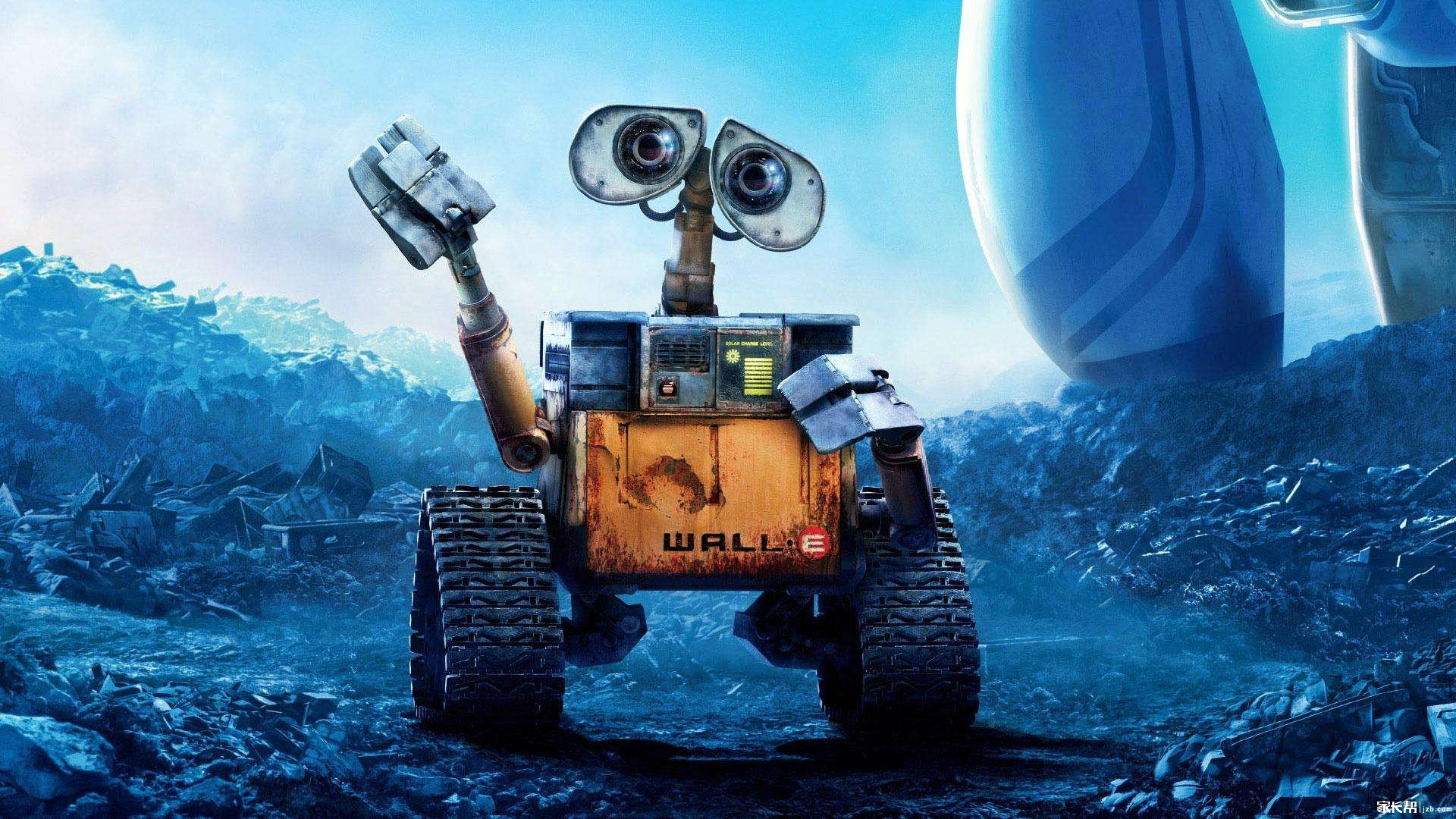 【ta的电影】《机器人总动员》---给孩子