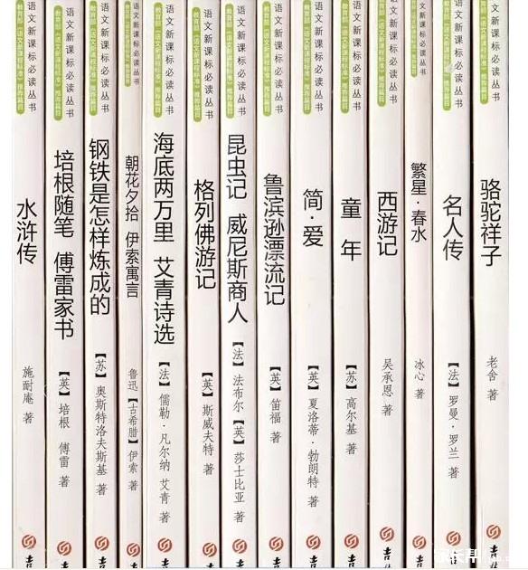 开头初中必读短语是?_2017沈阳小升初-沈语文give初中书目的图片