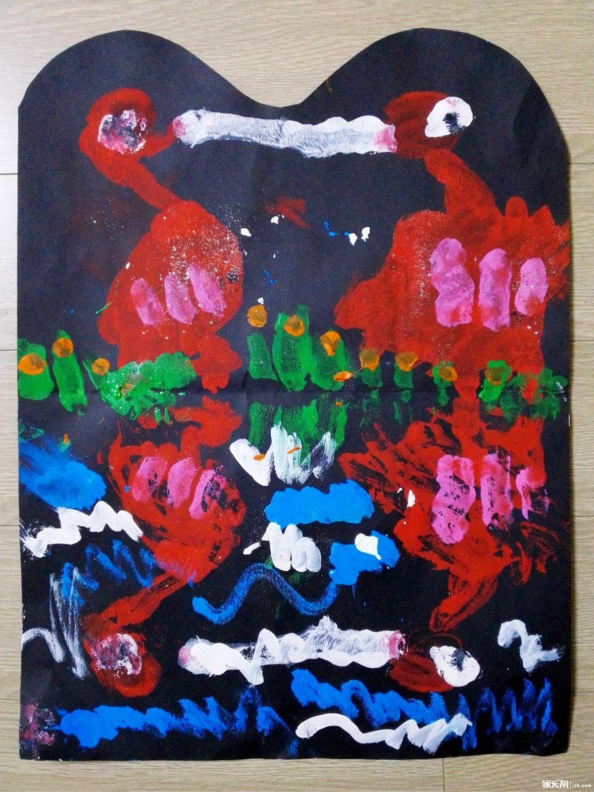 火烈鸟——把画纸一折一印,水中火烈鸟的倒影就出现了.jpg
