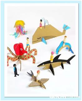 【创意手工】一个妈妈被幼儿园手工作业逼成艺术家,看