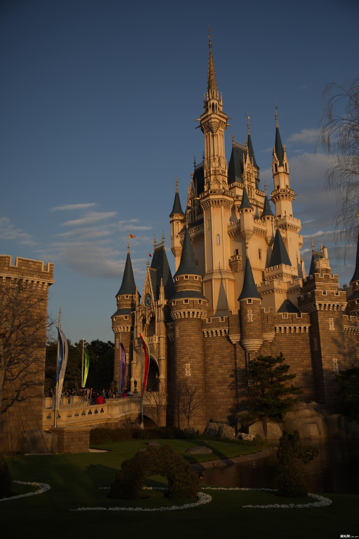 日本迪士尼乐园灰姑娘城堡