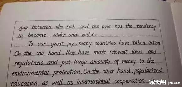 高考英语作文写成这样,阅卷老师分分钟都想给满分