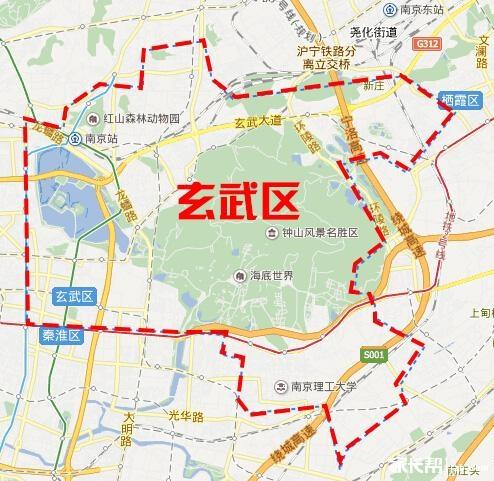 张家岗农场地图