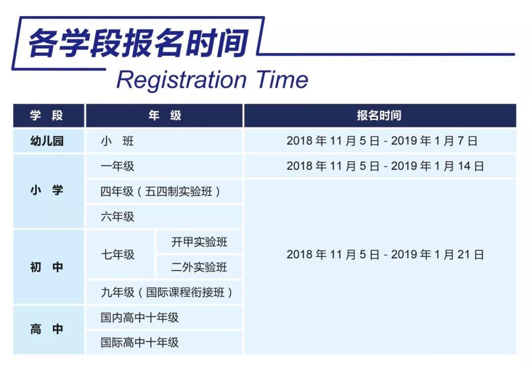 北外附属苏州湾外国语学校2019招生简章