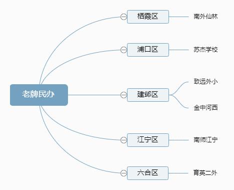 南京各区个老牌民办小学一览表.png