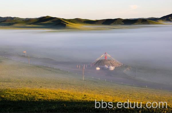 御道口草原森林风景区    桃山湖    御道口最美的地方,在御道口牧场