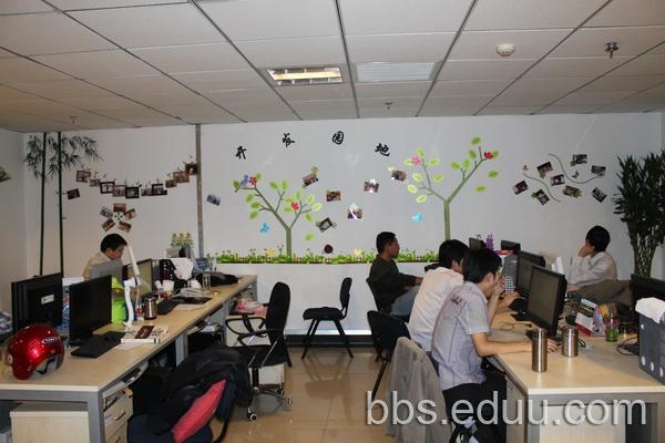 春意盎然——办公室墙面创意设计布置大赛